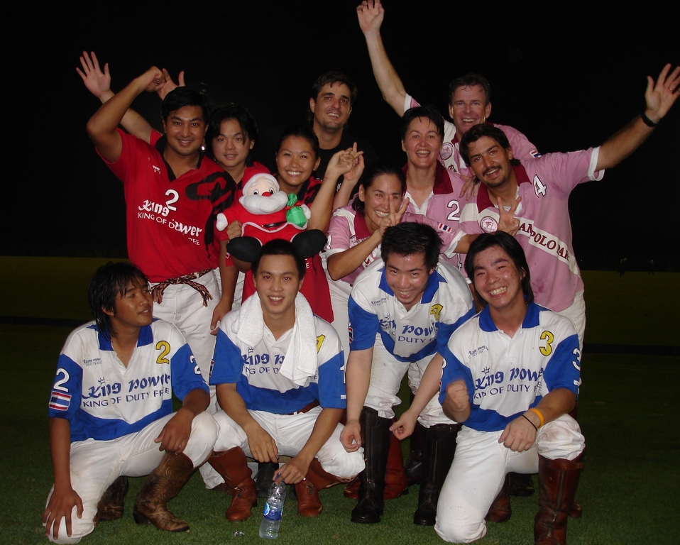 Christmas Cup at VR Polo Club - VR Team, Thai National Team, Siam Polo Team.